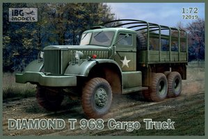 IBG Models Diamond T 968 Cargo Truck  1:72