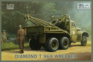 IBG Models Diamond T 969 Wrecker  1:72