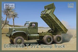 IBG Models Diamond T 972 Dump Truck  1:72