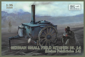 IBG Models German Small Fieldkitchen Hf.14  1:35