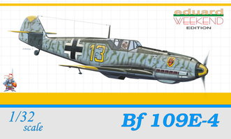 Eduard Messerschmitt Bf 109E-4 1:32 Weekend Edition