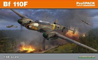 Eduard Messerschmitt Bf 110F 1:48 ProfiPack