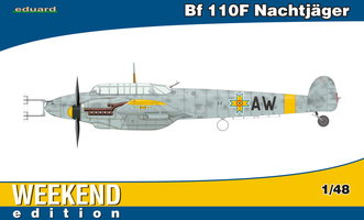 Eduard Messerschmitt Bf 110F 1:48 Nachtjager Weekend Edition