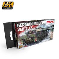 AK Meng German Modern Vehicles AFV Set