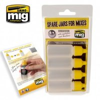 Ammo By Mig  Spare Jars For Mixes