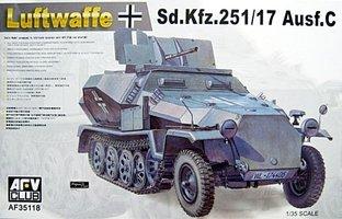 AFV Luftwaffe Sd.Kfz.251/17 Ausf.C  1:35