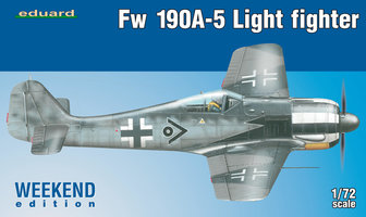 Eduard Weekend Edition Fw190A-5 Light Fighter 1:72