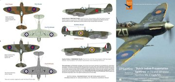 Dutch Decal Dutch Indies Presentation Spitfires 1:72 en 1:48