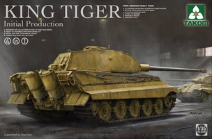 Takom King Tiger Initial Production 1:35