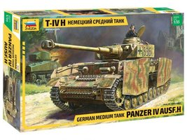 Zvezda German Medium Tank Panzer IV  1:35