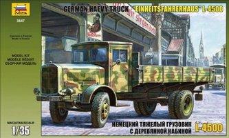 Zvezda German Heavy Truck L4500  1:35