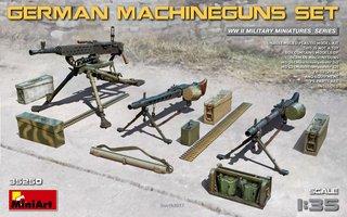 Miniart German Machineguns Set  1:35