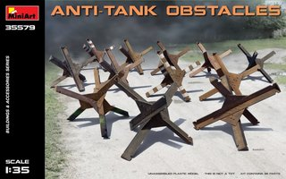 Miniart Anti-Tank Obstacles  1:35