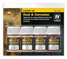 Vallejo Pigmenten set  Rust&Corrosion