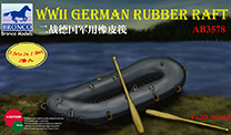Bronco WWII German Rubber Raft 1:35