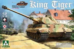 Takom King Tiger Sd.Kfz.182 Porsche Turret  1:35