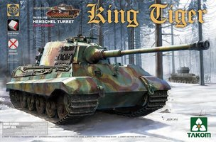 Takom King Tiger Sd.Kfz.182 Henschel Turret  1:35
