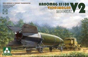 Takom Hanomag SS100 + V-2 Rocket Vidalwagen  1:35