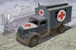 Dragon German Ambulance Truck  1:35