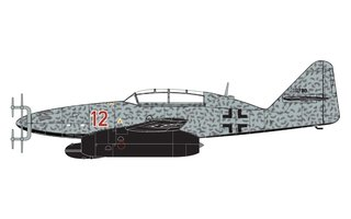 Airfix Messerschmitt Me-262B-1A 1:72