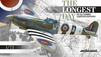 Eduard Spitfire The Longest Day DUAL COMBO 1:72