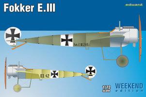 Eduard Weekend Edition Fokker E.III 1:72