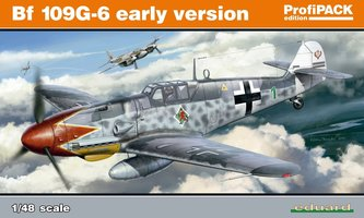 Eduard Messerschmitt Bf 109G-6 early version ProfiPack 1:48