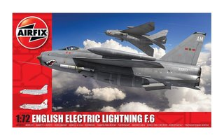 Airfix English Electric Lightning F.6  1:72