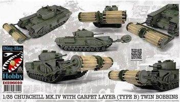 AFV Club Churchill Mk.V Carpet Layer(Type B) Twin Bobbins