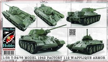 AFV Club T-34/76 Model 1942&Applique Armor