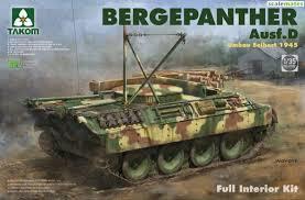 Takom Bergepanther Ausf.D  1:35