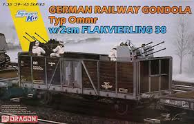 Dragon German Railway Gondola Type Ommr 1:35