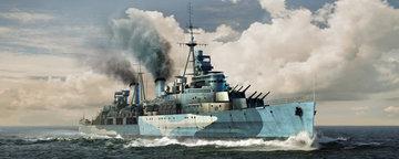 Trumpeter HMS Belfast Light Cruiser  1:350