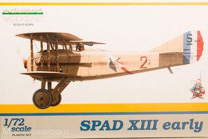 Eduard Weekend Edition SPAD XIII early 1:72