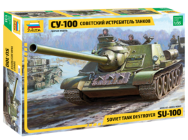 Zvezda Soviet SU-100 Tank Destroyer 1:35