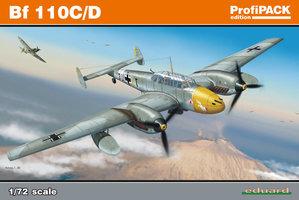 Eduard Profipack Bf110C/D  1:72