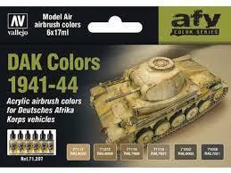 Vallejo DAK Colors 1941-44