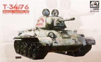 AFV -Club T-34/76 1942/43 Factory 183  1:35