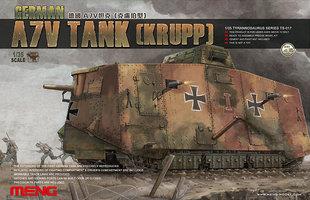 MENG German A7V Tank Krupp 1:35