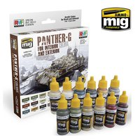 Ammo by Mig Panther G Colors Set