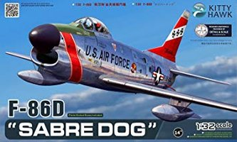 Kitty Hawk F-86D Sabre Dog  1:32