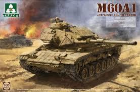 Takom M60A1 w/Explosive Reactive Armor  1:35