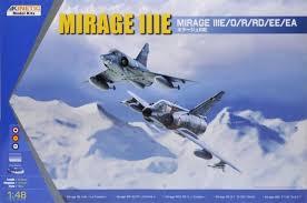 Kinetic Mirage IIIE  1:48