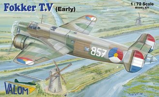 Valom Fokker T.V Early 1:72