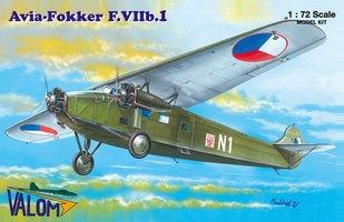 Valom  Avia-Fokker F.VIIb.I 1:72