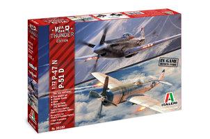 Italeri  War Thunder P-47N&P-51D 1:72