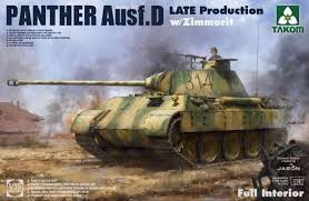 Takom Panther D Late/Zimmerit Production 1:35