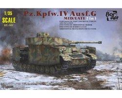 Border Model Pz.Kpfw.IV Ausf.G