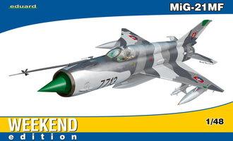 Eduard Mig-21MF  Weekend Edition  1:48