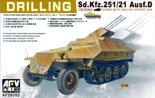 AFV  Sd.Kfz.251/21  Ausf.D Drilling 1:35